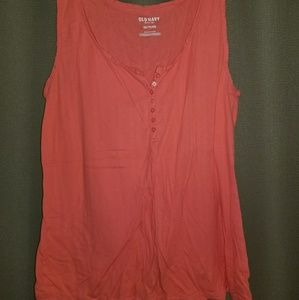 Old navy XXL henly button up tank